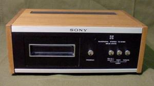 Sony TC-248D Quadradial 8-track tape player 1